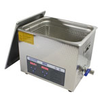 10 Liter (2.6 Gal) ultrasonic cleaner
