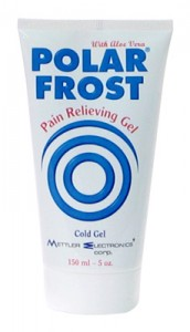 Polar Frost pain relieving gel