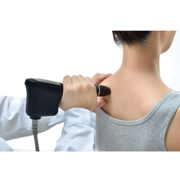 Radial Pressure Pulse Therapy Back Application