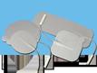 EZ Trodes electrodes with Aloe Vera