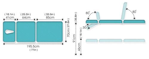 ME4400 Therapeutic Table Specs