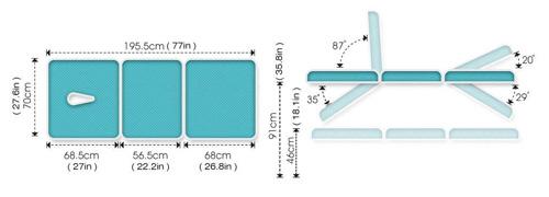 ME4600 Therapeutic Table Specs