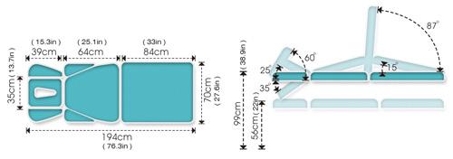 ME4700 Therapeutic Table Specs