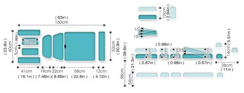ME4800 Therapeutic Table Specs